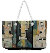Odd Fellows Triptych Weekender Tote Bag