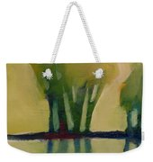 Odd Little Trees Weekender Tote Bag by Michelle Abrams