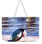 Odd Looking Duck In Swansboro Nc Weekender Tote Bag