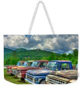 Odd Man Out Fords And Friend  Weekender Tote Bag
