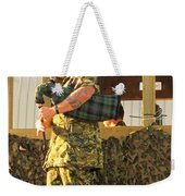 Ode To A Machine Gun Weekender Tote Bag