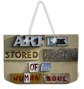 Ode To Art Weekender Tote Bag