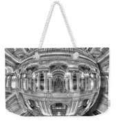 Ode To Mc Escher Library Of Congress Orb Horrizontal Weekender Tote Bag