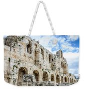 Odeon Stone Wall - Athens Greece Weekender Tote Bag