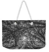 Odessa Sunrise -black And White Weekender Tote Bag