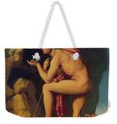 Oedipus And The Sphinx 1808 Weekender Tote Bag