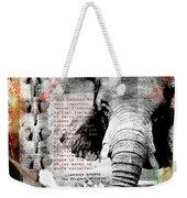 Of Elephants And Men Weekender Tote Bag
