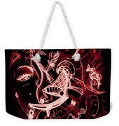 Off Her Head Weekender Tote Bag