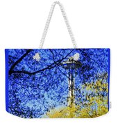 Off In Space Weekender Tote Bag