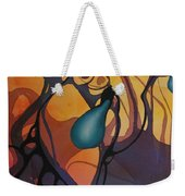 Off Stepping Weekender Tote Bag