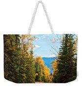 Off The Alaska Highway Weekender Tote Bag