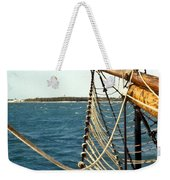 Off The Bow Weekender Tote Bag