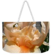 Office Art Irises Flower Orange Iris Flower Giclee Art Prints Baslee Troutman Weekender Tote Bag