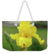 Office Art Irises Yellow Iris Flower Giclee Prints Baslee Troutman Weekender Tote Bag