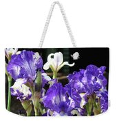 Office Art Prints Iris Flower Botanical Landscape 30 Giclee Prints Baslee Troutman Weekender Tote Bag