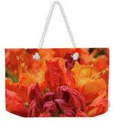 Office Art Prints Orange Azaleas Flowers 9 Giclee Prints Baslee Troutman Weekender Tote Bag