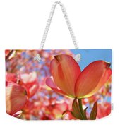 Office Art Prints Pink Dogwood Tree Flowers 4 Giclee Prints Baslee Troutman Weekender Tote Bag