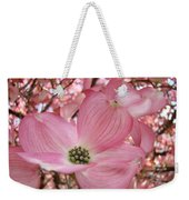 Office Art Prints Pink Flowering Dogwood Tree 1 Giclee Prints Baslee Troutman Weekender Tote Bag