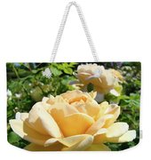 Office Art Prints Rose Peach Orange Rose Flower Baslee Troutman Weekender Tote Bag