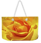 Office Art Prints Roses Orange Yellow Rose Flower 1 Giclee Prints Baslee Troutman Weekender Tote Bag