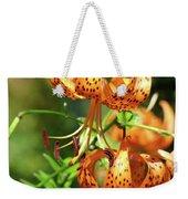 Office Art Prints Tiger Lilies Flowers Giclee Baslee Troutman Weekender Tote Bag