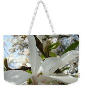 Office Art Prints White Magnolia Flower 6 Giclee Prints Baslee Troutman Weekender Tote Bag