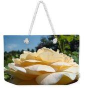 Office Art Rose Landscape Peach Roses Flowers Giclee Baslee Troutman Weekender Tote Bag