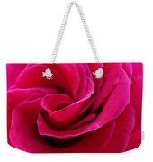 Office Art Rose Spiral Art Pink Roses Flowers Giclee Prints Baslee Troutman Weekender Tote Bag