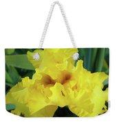 Office Art Yellow Iris Flower Irises Giclee Prints Baslee Troutman Weekender Tote Bag