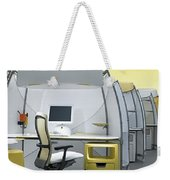 Office Funiture 3d Portfolio Weekender Tote Bag