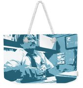 Office Space Milton Waddams Movie Quote Poster Series 003 Weekender Tote Bag