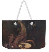 Officer Of The Marksman Society In Leiden Weekender Tote Bag