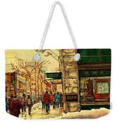 Ogilvys Department Store Downtown Montreal Weekender Tote Bag