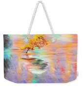Oh Babe It Is Raining Outside Weekender Tote Bag