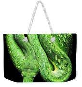 Oh So Green Viper Weekender Tote Bag