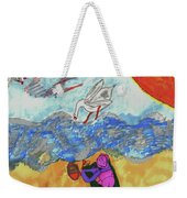 Oh So That's Where My Sandwich Went Weekender Tote Bag