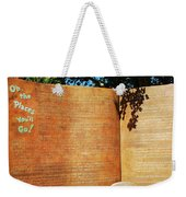 Oh The Place Youll Go  Weekender Tote Bag