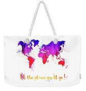 Oh The Places Weekender Tote Bag