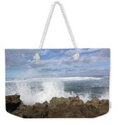 Ohau Splash Weekender Tote Bag