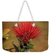 Ohia Lehua Flower Volcanos National Park Weekender Tote Bag