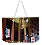 Ohio And State Theaters Weekender Tote Bag
