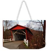Ohio Covered Bridge Weekender Tote Bag