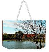 Ohio Duck Pond Weekender Tote Bag