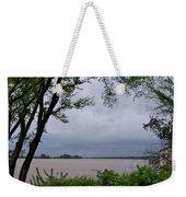 Ohio River Weekender Tote Bag by Sandy Keeton