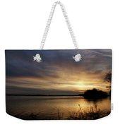 Ohio River Sunset Weekender Tote Bag