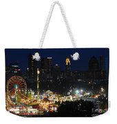 D3l-464 Ohio State Fair With Columbus Skyline Weekender Tote Bag