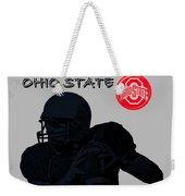 Ohio State Football Weekender Tote Bag