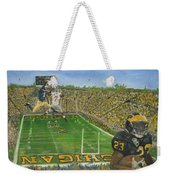 Ohio State Vs. Michigan 100th Game Weekender Tote Bag
