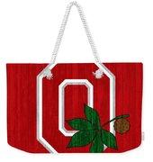 Ohio State Wood Door Weekender Tote Bag