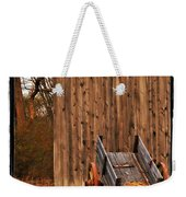 Ohio Wheelbarrel In Autumn Weekender Tote Bag